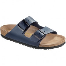 Birkenstock Arizona Blue Smooth Leather