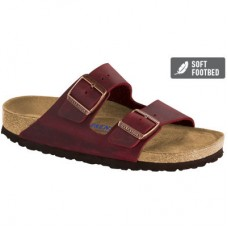 Birkenstock Arizona Zinfandel Oiled leather Soft Footbed