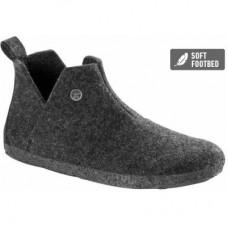 Birkenstock Andermatt Anthracite Wool Felt Shearling