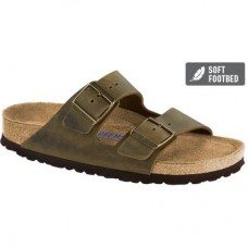 Birkenstock Arizona Jade Oiled leather Soft Footbed