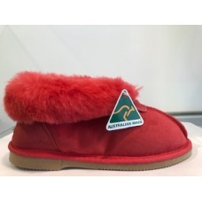 Merino Craft Ladies Slipper Red