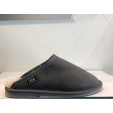 Merino Craft Mens Clogs Grey