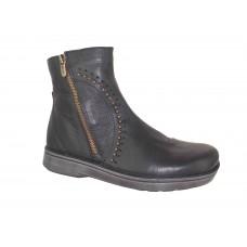 Naot Cetona Soft Black Leather