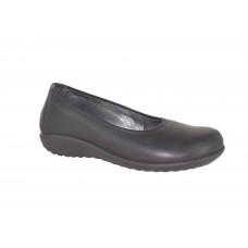 Naot Taupo Soft Black Leather