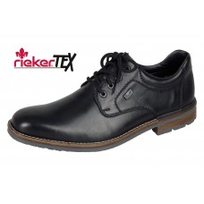 Rieker B1312-00 Black Mens Lace Up Shoe