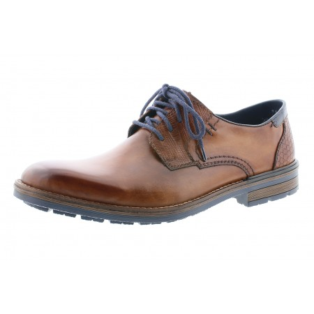 Rieker B1321-25 Brown Mens Lace Up Shoe