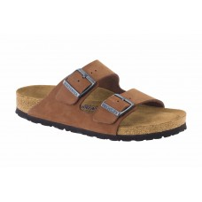 Birkenstock Arizona Soft Footbed Nubuck Brown