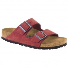 Birkenstock Arizona Soft Footbed Nubuck Rosewood