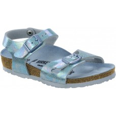 Birkenstock Kids Rio Reflection Blue