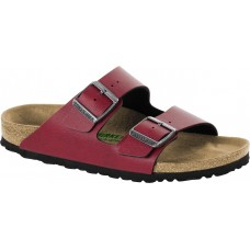 Birkenstock Arizona BF Pull Up Bordeaux Vegan