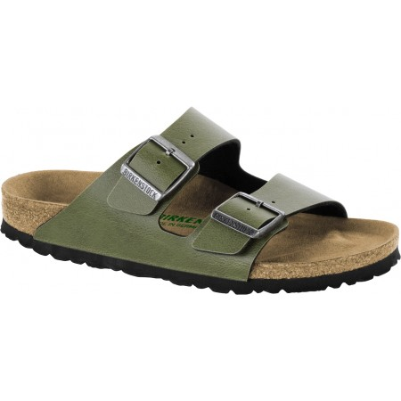 Birkenstock Arizona BF Pull Up Olive Vegan