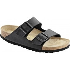 Birkenstock Arizona Black Birko Flor Soft Footbed