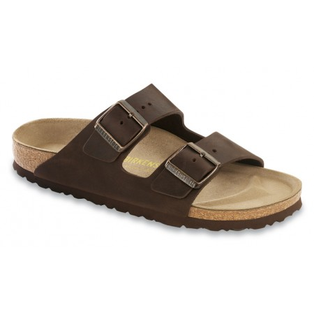 Birkenstock Arizona Habana Natural Leather