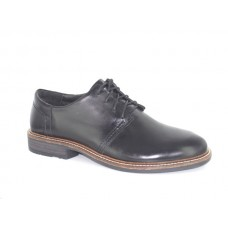 Naot Chief Black Madras Leather