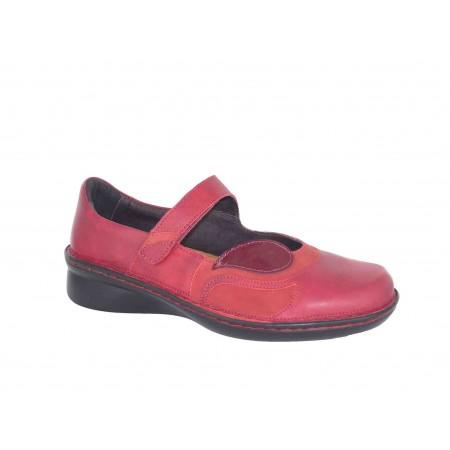 Naot Conga N1U Berry Rose Beet Red