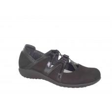 Naot Timu Black Madras Leather Nbk